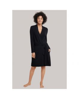 Schiesser bathrobe 170989 000 black_1