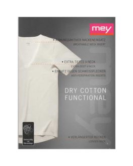 Mey Dry Cotton Functional Shirt V-neck 46038