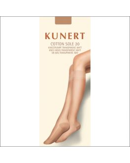 Kunert Cotton Sole 20 kniekousje 179800