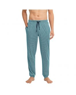 Schiesser Mix & Relax Long Pants 173639 811 petrol