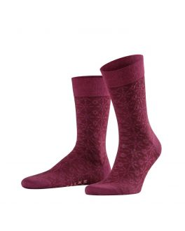 Falke Sensitive Supernova herensokken 14034 8727 pinot noir