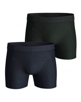 Bjorn Borg 2-pak herenboxers Solids 2111-1071 72731 night sky