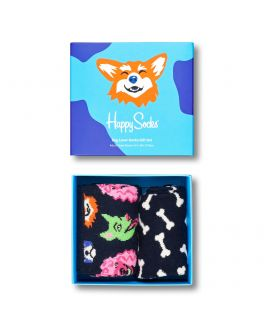 Happy Socks 2-pak Dog Lover giftset XDOG02 9501-D_1