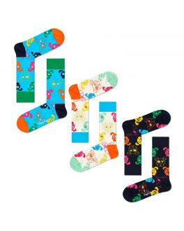 Happy Socks 3-Pack Mixed Dog Gift set XDOG08 0100-D_1