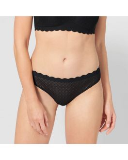 Sloggi Zero Feel Lace brazil slip 10202034 0004 black_1