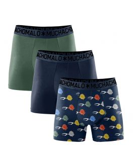 Muchachomalo 3-pak boxers Cotton Light Fish FISHU1132 07 ._1