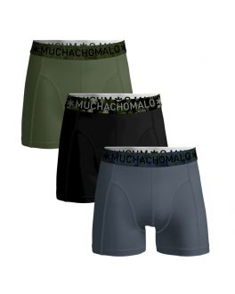 Muchachomalo 3pack Men short 1010Solid 346 blue/black/green_1