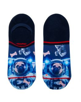 Xpooos heren footies Pug in Space 62032 7000 ass