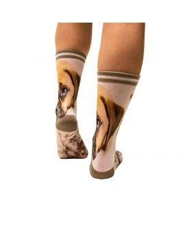 Sock My Puppy damessokken SMFW101 1000 multicolor