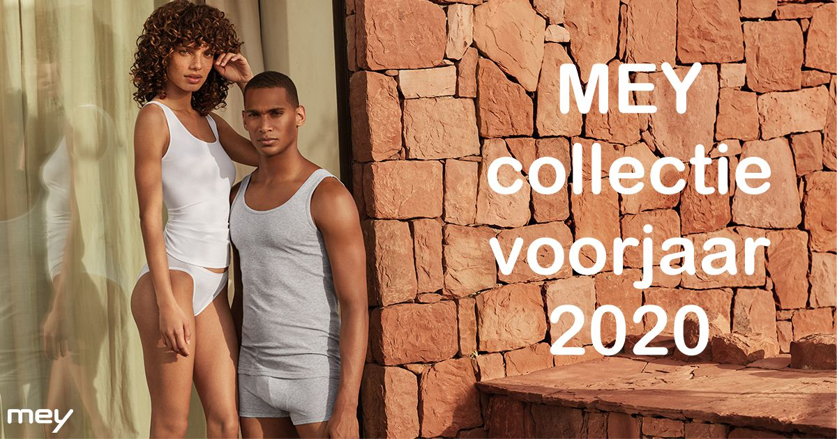 Mey ondergoed voor dames en heren collectie 2020
